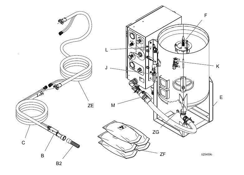 Replaces Graco Vapor Blast Eq1711 Nozzle Blast High