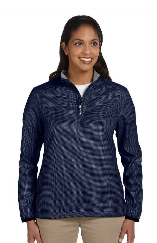 New-Womens-Dereon-Houndstooth-Coat-Wool-Blend-Peacoat-Jacket-Black