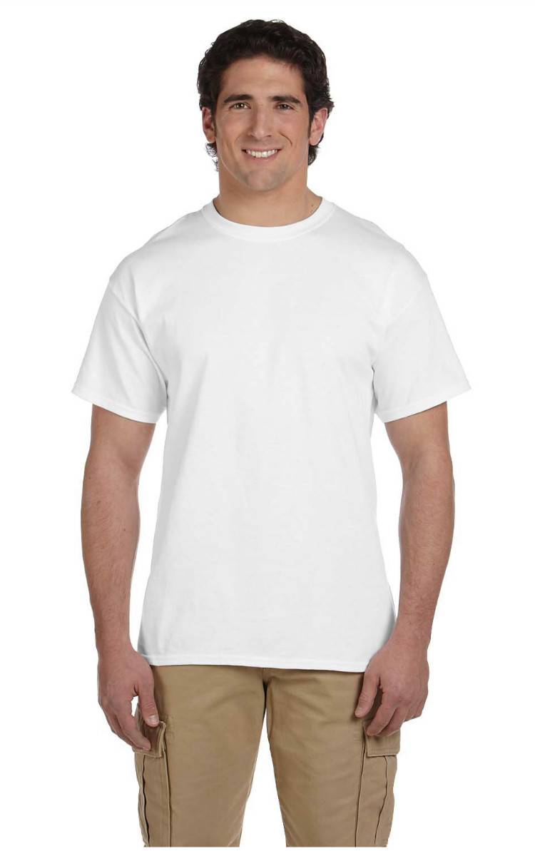 Gildan men 39 s new tall tee 100 cotton short sleeve white t for Mens tall t shirts