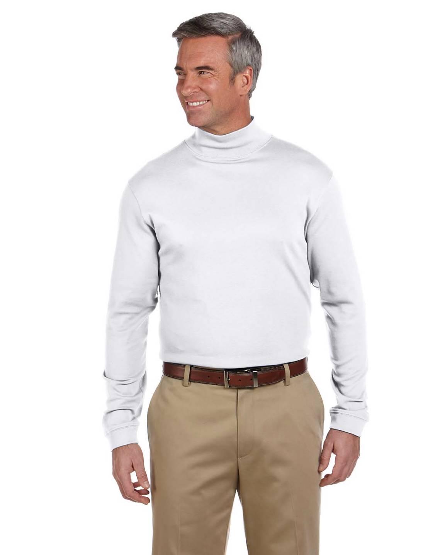 New chestnut hill pima turtleneck men 39 s long sleeve mock for Mens mock turtleneck shirts sale