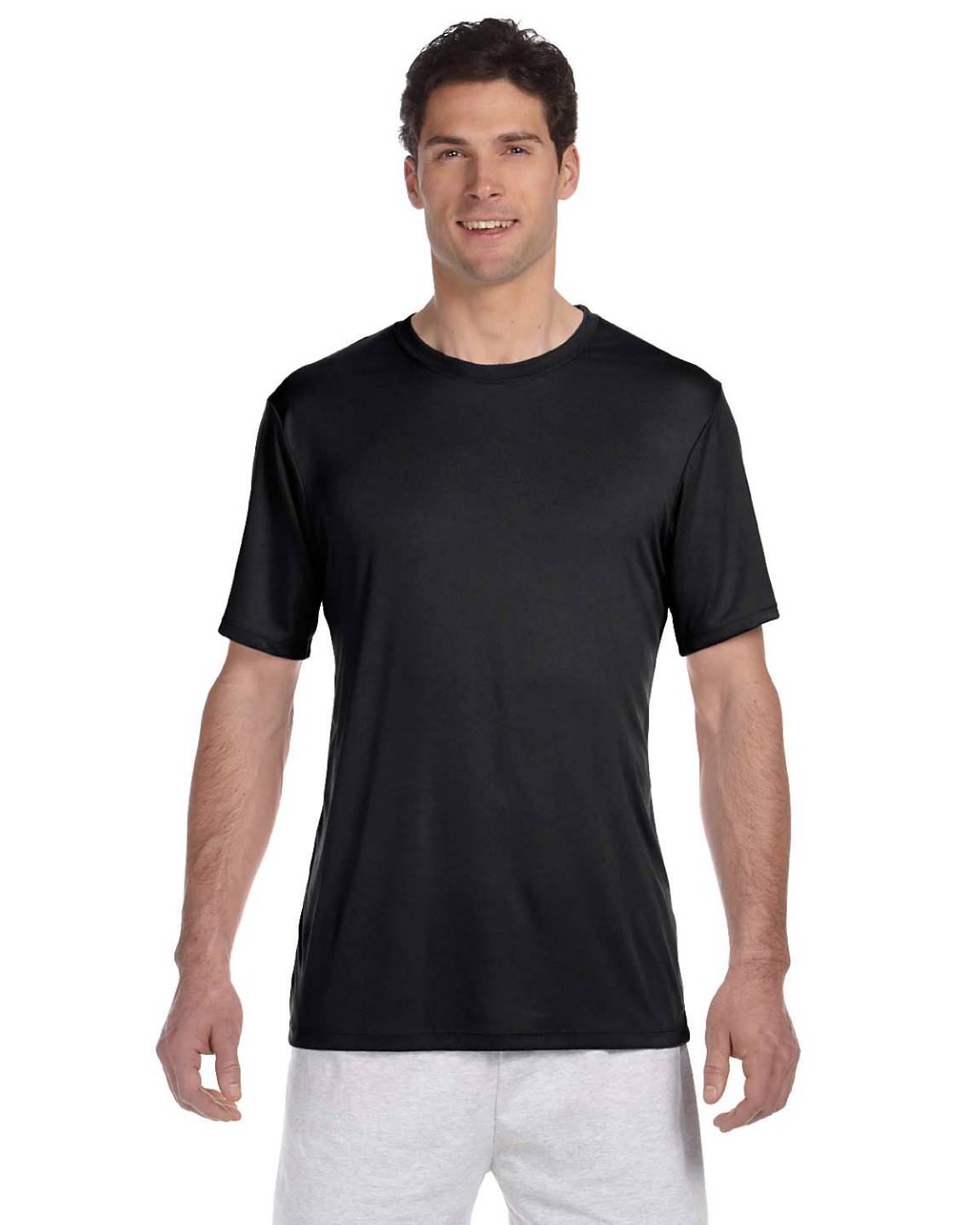 hanes men 39 s 4 oz short sleeves 100 polyester cool dri big size t shirt 4820 ebay. Black Bedroom Furniture Sets. Home Design Ideas