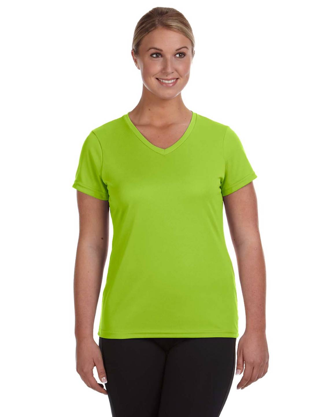 augusta sportswear ladies moisture wicking v neck big size