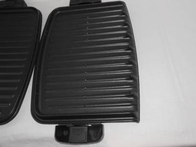 George foreman grill replacement heat plates left and - George foreman replacement grill plates ...