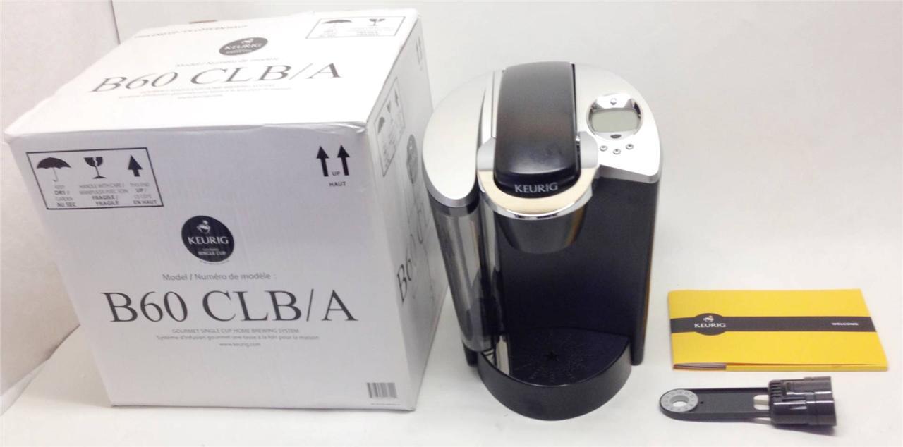K Cup Coffee Maker Water Filter : Keurig B60 Single Cup Coffee Maker Water Filter eBay