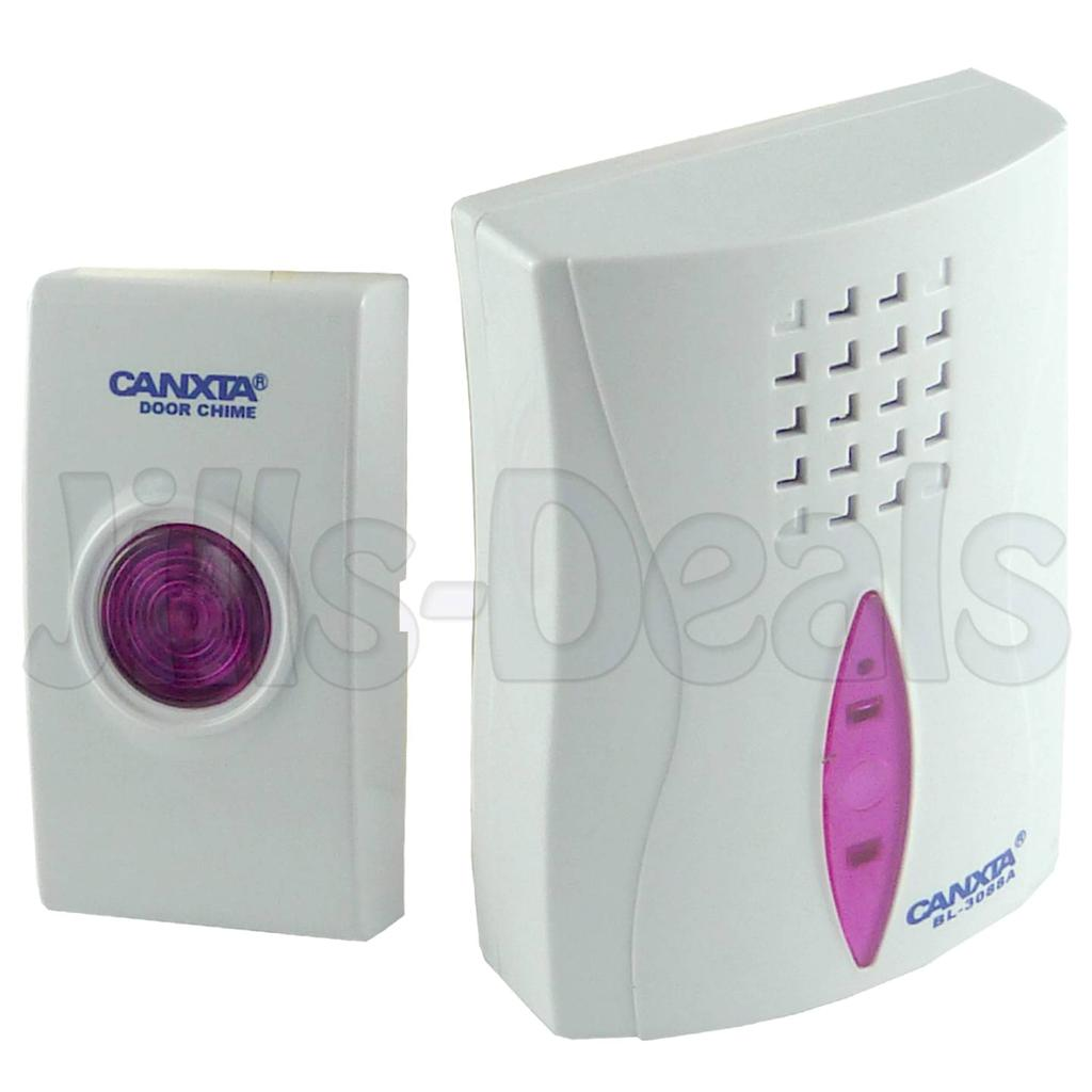 door bell battery doorbell cordless chime home office diy door wall