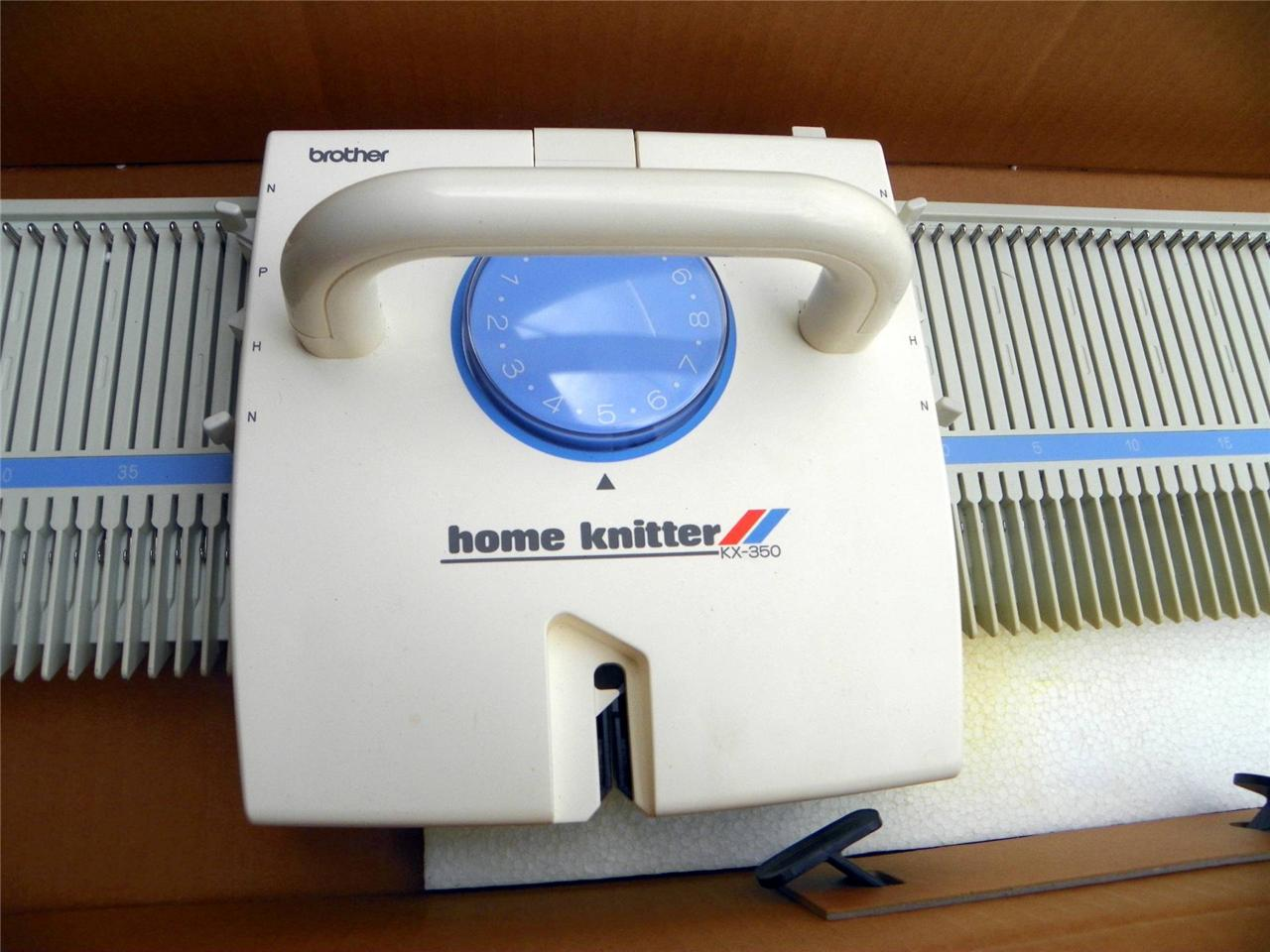 Knitting Machine For Home : Brother home knitting machine in box model kx