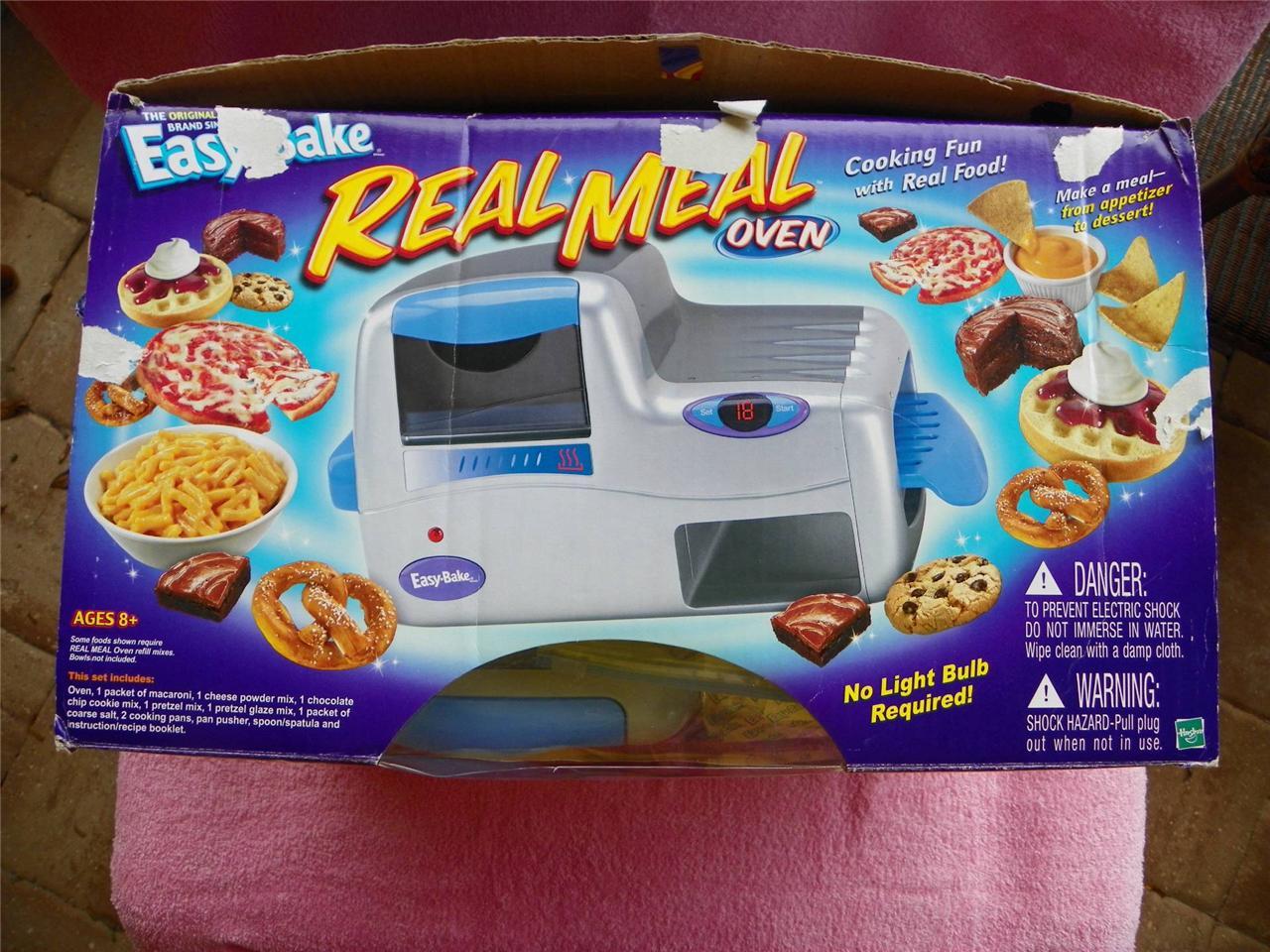 Nuevo caja original easy bake oven comida real de hasbro 2003 nunca nuevo caja original easy bake oven comida real forumfinder Images