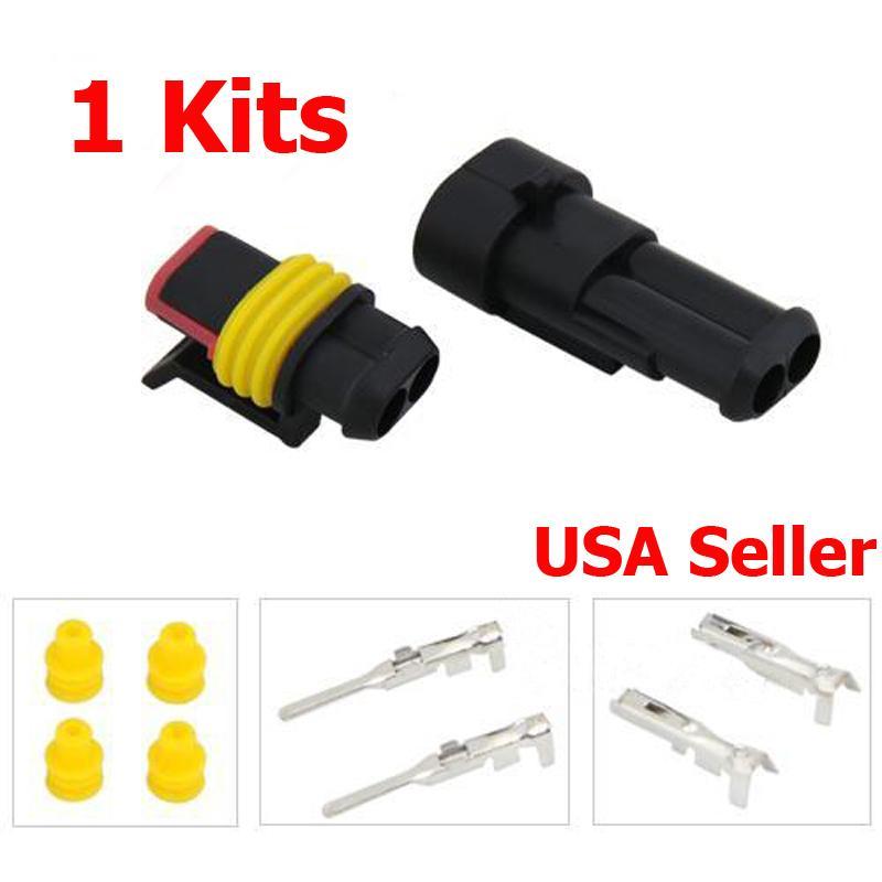 premium 2 pin two way waterproof  u0026quot heavy duty u0026quot  electrical
