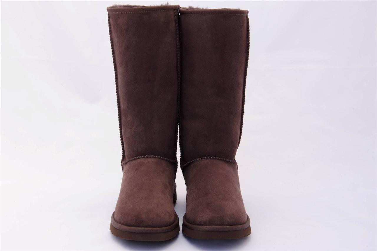 ugg boots black classic tall wool