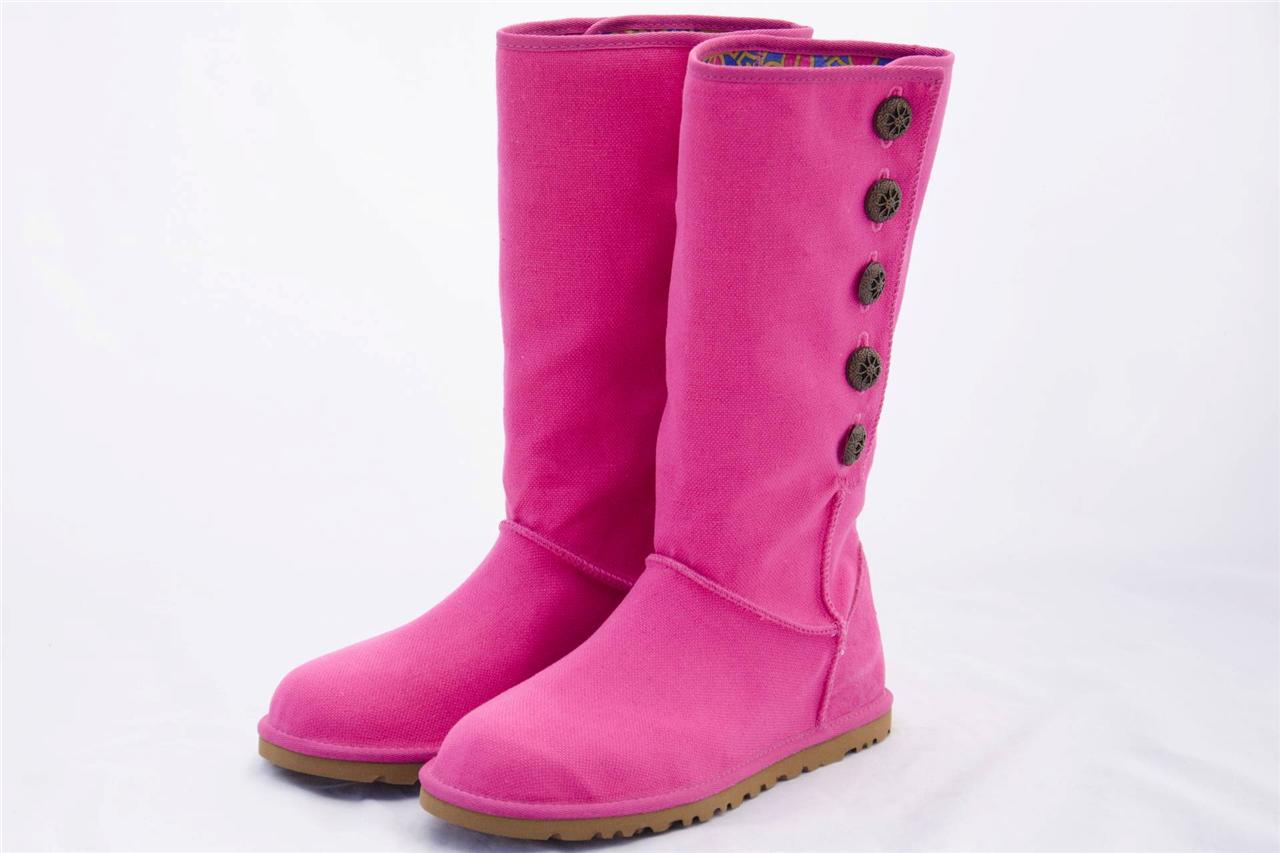 pink tall ugg boots. Black Bedroom Furniture Sets. Home Design Ideas
