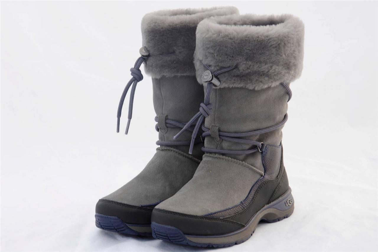 ugg orellen women 39 s waterproof thinsulate gray boots us 7 eur 38 uk 5 5 ebay. Black Bedroom Furniture Sets. Home Design Ideas