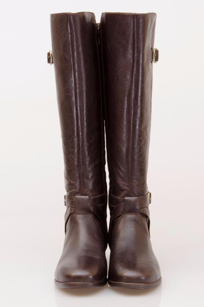 ugg beryl wide calf leather equestrian brown boots us