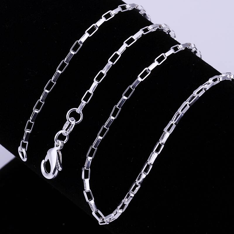 Hot Wholesale Multiple styles fashion 925 Sterling silver with chain Necklace