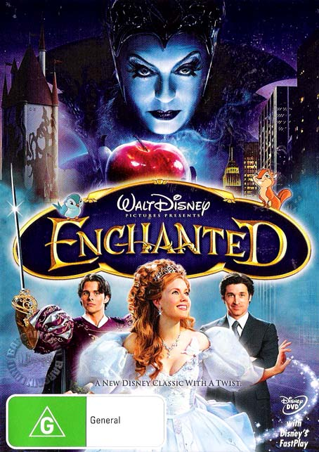 ENCHANTED-NEW-SEALED-Disney-R4-DVD-Patrick-Dempsey