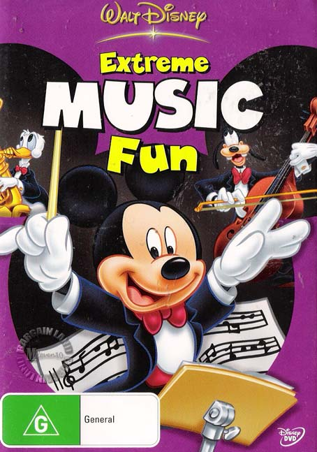 Mickey-Mouse-EXTREME-MUSIC-FUN-NEW-Disney-R4-DVD