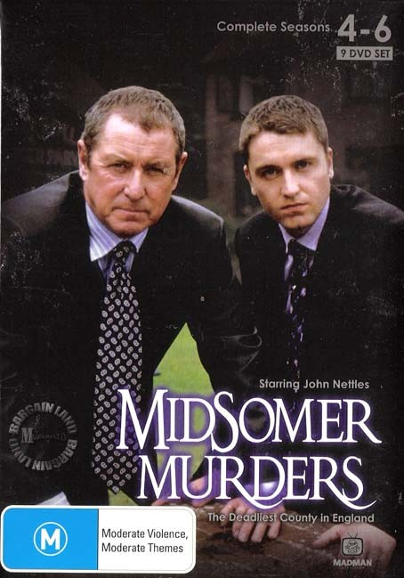 Midsomer murders season 4 5 6 new dvd ebay Midsomer murders garden of death
