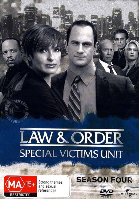 Law-And-Order-SVU-TV-Series-SEASON-4-NEW-SEALED-R4-DVD