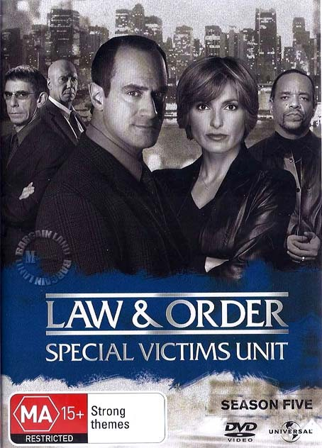 Law-And-Order-SVU-TV-Series-SEASON-5-NEW-SEALED-R4-DVD