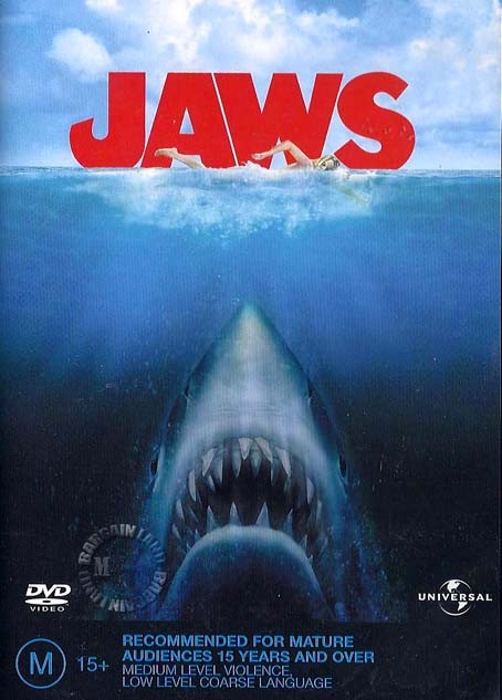 JAWS-1-NEW-SEALED-R4-DVD-Steven-Spielberg