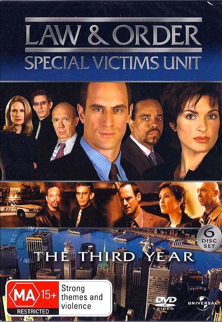 Law-And-Order-SVU-TV-Series-SEASON-3-NEW-SEALED-R4-DVD