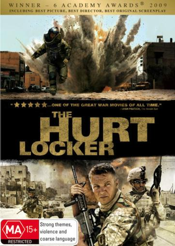 HURT-LOCKER-NEW-SEALED-R4-DVD-Guy-Pearce-Ralph-Fiennes