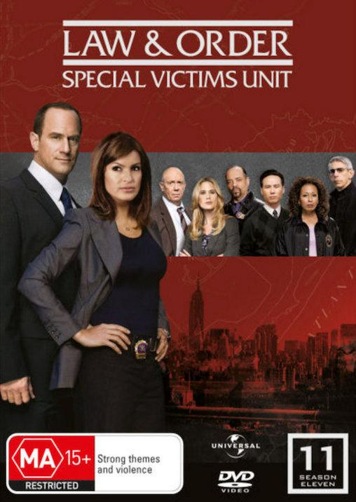 Law-And-Order-SVU-TV-Series-SEASON-11-NEW-SEALED-R4-DVD