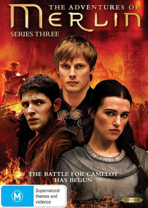 THE-ADVENTURES-OF-MERLIN-TV-Series-SEASON-3-NEW-R4-DVD