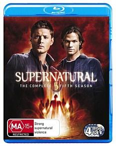 SUPERNATURAL-TV-Series-SEASON-5-NEW-SEALED-R-B-BLU-RAY