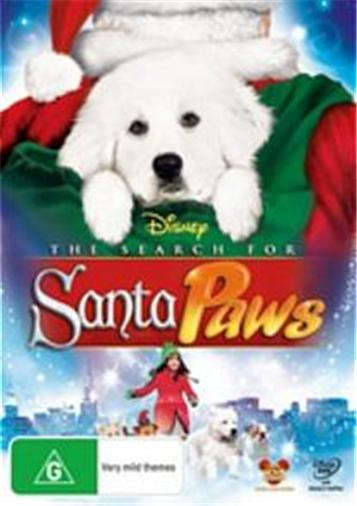 THE-SEARCH-FOR-SANTA-PAWS-NEW-R4-DVD