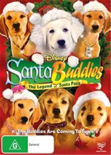 SANTA-BUDDIES-The-Legend-of-Santa-Paws-NEW-R4-DVD