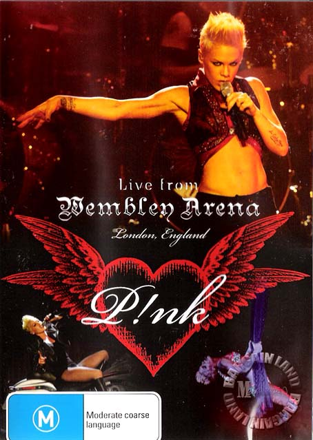P-NK-LIVE-FROM-WEMBLEY-ARENA-NEW-Pink-DVD-POSTER