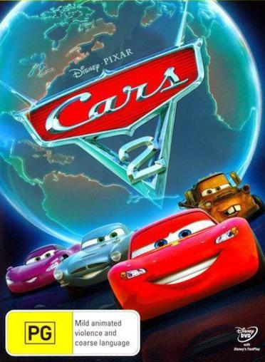 CARS 1+2+Cars TOON = NEW SEALED Disney-Pixar R4 DVD