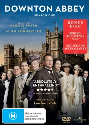 DOWNTOWN-ABBEY-Series-SEASON-1-NEW-R4-DVD