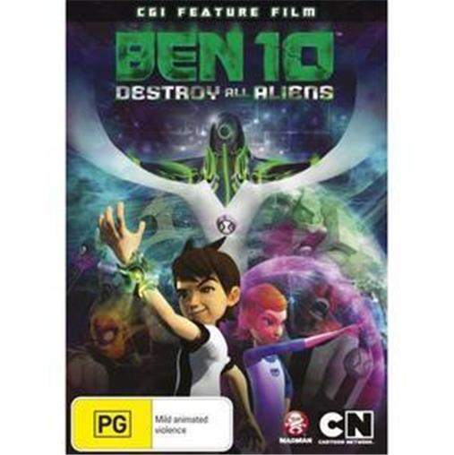 BEN-10-Movie-DESTROY-ALL-ALIENS-NEW-CGI-Feature-Film-R4-DVD