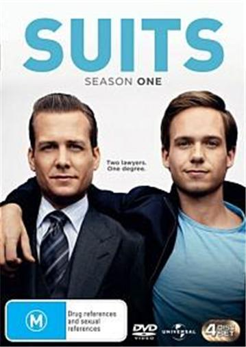 SUITS-TV-Series-SEASON-1-NEW-R4-DVD