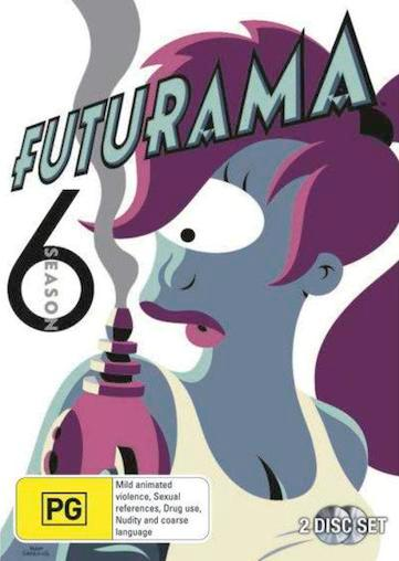 FUTURAMA-SEASON-6-NEW-R4-DVD