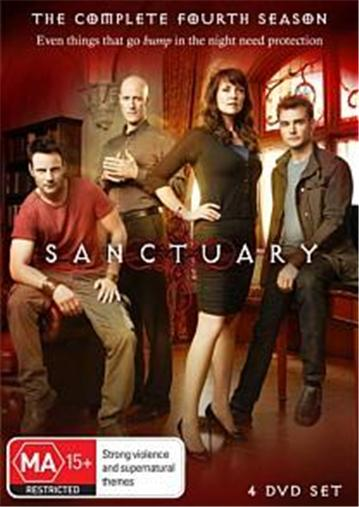 SANCTUARY-TV-Series-SEASON-4-NEW-R4-DVD