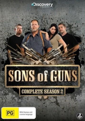 SONS OF GUNS TV Series SEASON 2 NEW SEALED R4 DVD | eBay