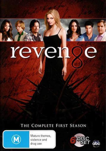 REVENGE-TV-Series-SEASON-1-NEW-R4-DVD