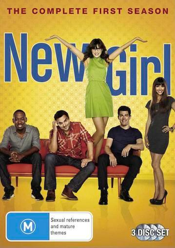 NEW-GIRL-TV-Series-SEASON-1-NEW-R4-DVD