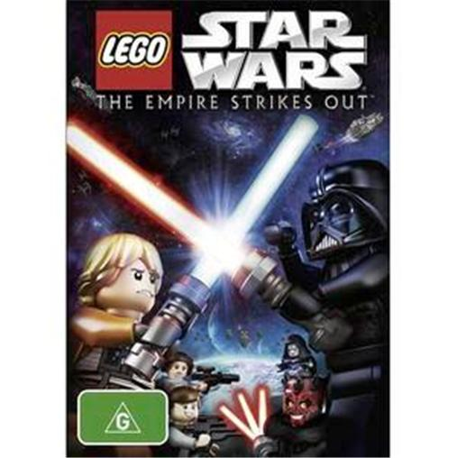 LEGO-Star-Wars-The-Empire-Strikes-Out-NEW-R4-DVD