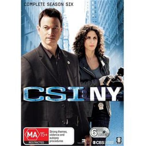 C-S-I-CSI-NY-NEW-YORK-TV-Series-SEASON-6-NEW-R4-DVD