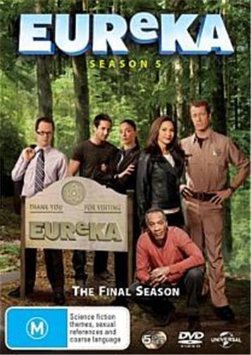 EUREKA-TV-Series-SEASON-5-NEW-R4-DVD