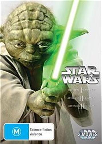 STAR-WARS-PREQUEL-TRILOGY-Episodes-1-2-3-NEW-R4-DVD