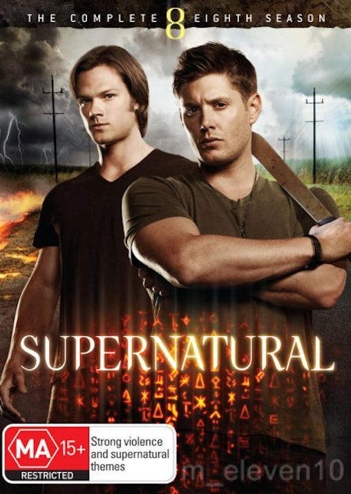 SUPERNATURAL-TV-Series-SEASON-8-NEW-R4-DVD