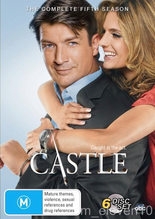 Details about CASTLE TV Series: SEASON 5 = NEW R4 DVD