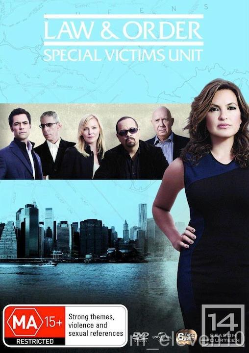 Law-And-Order-SVU-TV-Series-SEASON-14-NEW-R4-DVD