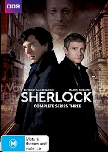 SHERLOCK-TV-Series-SEASON-3-NEW-R4-DVD