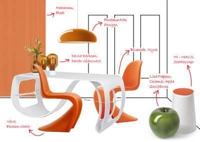 fontana arte pangen suspension pendant light. Black Bedroom Furniture Sets. Home Design Ideas