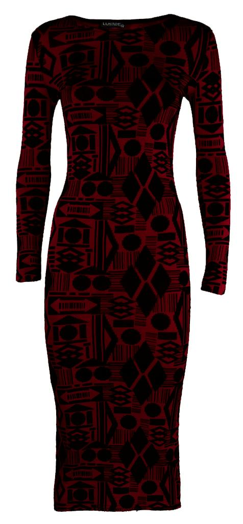 Womens-Ladies-Celebrity-Animal-Aztec-Tribal-Geometrical-Print-Long-Midi-Dress